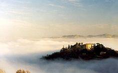 Palazzo Viviani Castello di Montegridolfo #umbria #italy