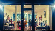 #Vitrine de la #boutique Bazar Exquis #windows #light #créatrice #bijoux