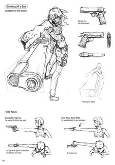 Drawing Tips gun drawing Drawing Reference Poses, Drawing Poses, Drawing Tips, Drawing Sketches, Art Drawings, Anatomy Drawing, Manga Drawing, Drawing Practice, Figure Drawing