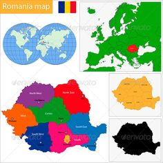 34 Best Romania map images | Romania map, Bulgaria, Destinations