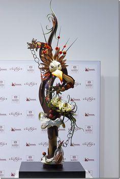 2nd place, World Chocolate Masters 2011, Paris. Yoshiaki Uezaki from Japan.