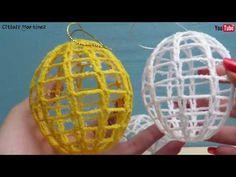 Esferas tejidas - YouTube