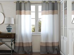 Oliver Grommet Curtain Panels