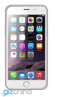 Novedad: Blackview Ultra Plus, un clon del iPhone 6S Plus de color oro rosa