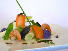 Vegetables with Neyba Coffee Vinaigrette