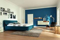 turkusowy kolor ścian w sypialni - Szukaj w Google