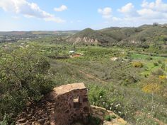 View from the ruin.the last of the sun lingers here. Shepherds Hut, Algarve, Glamping, Mountains, Luxury, Nature, Travel, Naturaleza, Trips