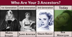 Who Are Your 3 Ancestors?