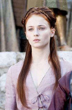 Sansa hair