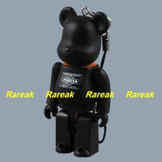 Medicom 2008 Be@rbrick Porter 100% Black *Unbreakable* Bearbrick 1pc   eBay