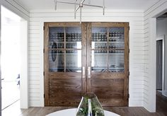 Knight Moves: a wine room that isn't cheesy. Now there's an idea!