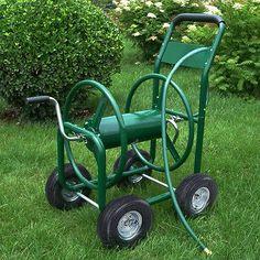 Strongway Garden Hose Reel Cart Holds 5 8in X 400ft Hose Utiles Soporte Y Motocicleta