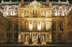 Palace of Versailles, France.  Absolutely stunning,full of history and brilliance.  Would have LOVED to attend a dinner, ball, or church service in the 18th century here