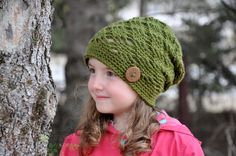 The Ally Slouch #crochet pattern by #SincerelyPam includes instructions for 0-6 months up to Adult and Slouch, Beanie and Newsboy styles.