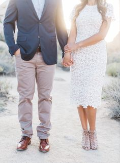 Brandi Milloy's Desert Engagement Session - Inspired by This