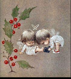 Рождественское волшебство в открытках Rute Morehead - Ярмарка Мастеров - ручная работа, handmade