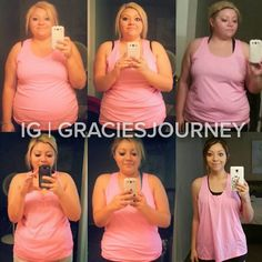 """Comment with what you think!  Want to Make a Transformation Like This? Check bio for our Five Star 90-day Transformation Program!  Use #TransformFitspoCommunity for a chance to Get Your Transformation Featured  @graciesjourney """"This did not happen overnight- it has taken me 2 years to get here Of course we all wanna lose weight quickly but your hard work and dedication is all worth it! Don't you even think about quitting! I'm over here rooting for all of you to succeed! Taking pictures in…"""
