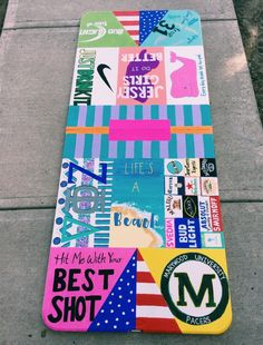 17 Creative Painted Beer Pong Table Ideas - Page 10 of 17 Teen Party Games, Beer Pong Tables, Drinking Games, Chill, Alcohol, Pics Art, Diy Table, Diy Painting, Party Time