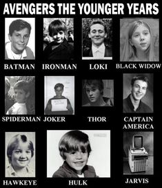 Batman and Joker aren't part of the avengers! Spider Man isn't in the movie but in some of the comics. This are funny though!
