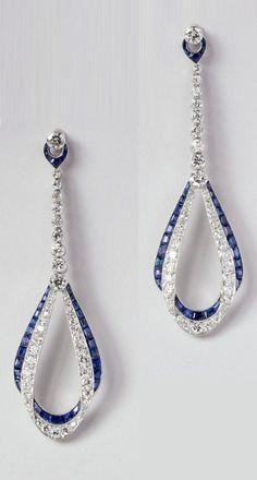 Van Cleef & Arpels-Art Deco earrings
