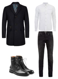 """""""7"""" by nycmoo on Polyvore featuring Maison Margiela, Ted Baker, Topman, Scotch & Soda, men's fashion и menswear"""