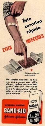 BAND-AID década de 40