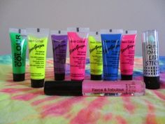 Visit BlackLightBash.com for more tips and ideas for Black Light Makeup and party gear.