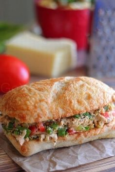 Tex-Mex Chicken Salad Sandwiches