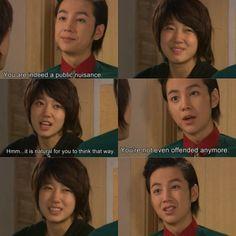 Jang keun suk and park shin hye in korean drama you're beautiful #kdrama