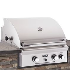 """AOG Built-In Gas BBQ Grill with Rotisserie - 24"""" #LearnShopEnjoy"""