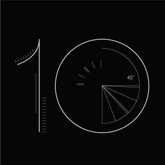 その日の日付番号をクリエイティブなタイポグラフィーで見せる『365 Days of Type』 - K'conf