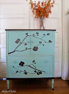 upcycle furniture | ... Bureau - Home Decor - Upcycled Furniture Craft Project by soapdeligirl