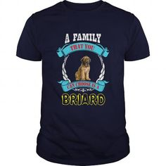 briard T Shirts, Hoodies. Get it now ==► https://www.sunfrog.com/Pets/briard-Navy-Blue-Guys.html?57074 $23