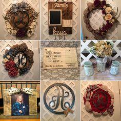 Rustic Home & Wedding Décor 15% Off Sale - ENDS: 04/01/18 We Welcome CUSTOM ORDERS!  #GiftForHer #ShopSmall#GiftForHer #ShopHandmade #EtsyGifts #Etsy #EtsyFinds #RusticHomeDecor #HousewarmingGift #MothersDayGift #MothersDayGiftIdea #FrontDoorWreath #RusticDecor #WeddingGiftIdeas #HandmadeGiftIdeas #GiftsForHer #MonogramGift #MonogramDecor #MonogramDoorHanger #FarmhouseDecor #FarmhouseStyle  #BurlapWreath #WoodAndBurlapDecor #FireFighterGift #PoliceOfficerGift #CommandCenter…