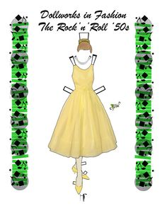 The Rock'n'Roll '50s by FlyingMagpie on Etsy