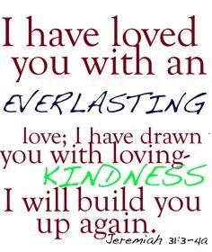 Jeremiah 31:3-4a