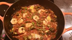 Okra Curry With Prawns
