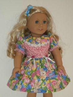 Easter Bunny Dress for American Girl Doll   eBay