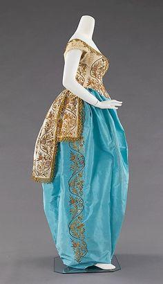 House of Worth Fancy Dress Costume, circa 1870