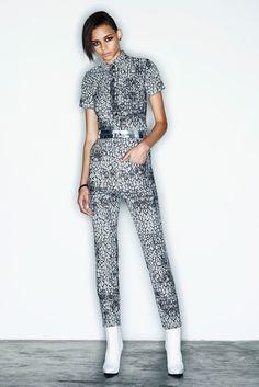 McQ Alexander McQueen Pre-Fall 2014 - Slideshow - Runway, Fashion Week, Fashion Shows, Reviews and Fashion Images - WWD.com