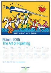 FREE The Art of Pipetting 2015 Wall Calendar on http://www.icravefreebies.com/
