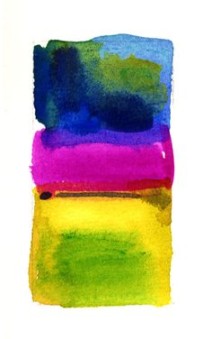 Pink Yellow Blue Abstract by Kathy Morton Stanion #kathymortonstanion #etsy #homedecor kathymortonstanion.com