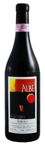 "G.D. Vajra ""Albe"" Barolo 2006 (Piedmont, Italy) Liner"