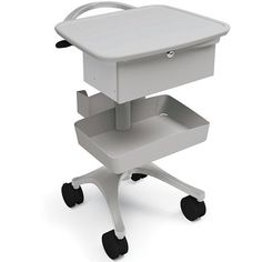 Ergotron BZD04CG/CG4 Anthro Zido Phlebotomy Mobile Cart Package