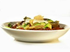 Touchdown Chili : Recipes : Cooking Channel Make ahead and freezable too!!!