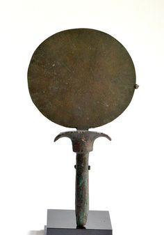 An Egyptian Bronze Toilet Mirror, 18th Dynasty, ca.1539-1292 B.C. - Sands of Time Ancient Art