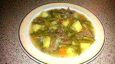Das perfekte grüne Bohnensuppe (wie bei Muttern)-Rezept mit einfacher Schritt-für-Schritt-Anleitung: Das Suppenfleisch waschen und mit kaltem Wasser und…