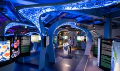 The Science Tunnel: A Photo Gallery