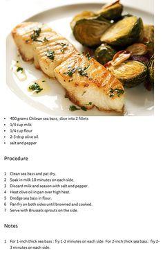 pan-seared chilean sea bass
