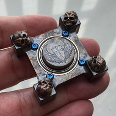 RingSpin Warrior by @Steelflamejewelry #ringspin#steelflame#steelflamejewelry#handspinner#spinner#spinningtop#pockettop#EDC#everydaycarry#fidget#fidgettoy#pocketdump#edcporn#spinningthings#spinners#timekiller#fingerspinner#pockettop#tabletopspinner#edctop#edcspin#spinfighter#fidgetspinner#edcspinner#badasstoys#knifeedc#spinforever